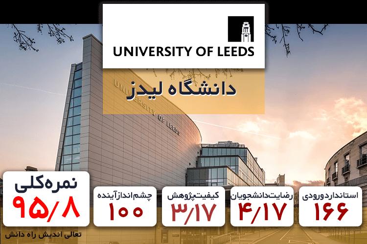 ده دانشگاه برتر کامپیوتر دانشگاه لیدز