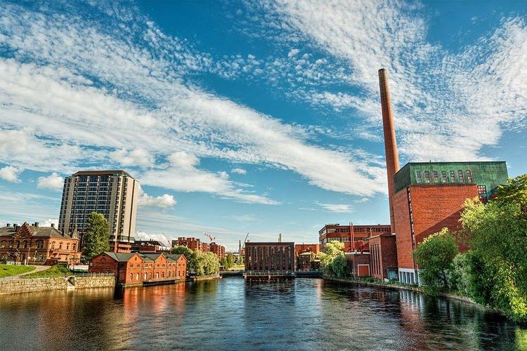 شهر تامپر کشور فنلاند