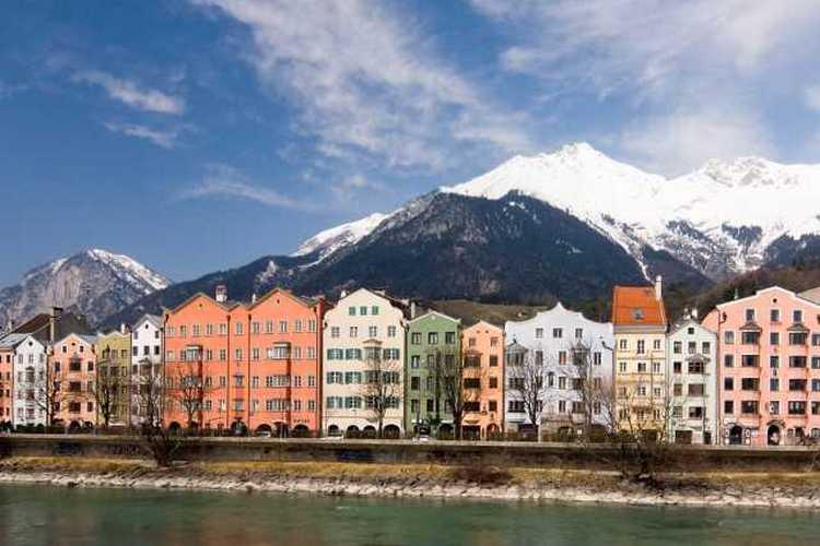 شهر اینسبروک اتریش