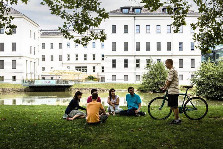 دانشجویان موسسه دانش و فناوری اتریش