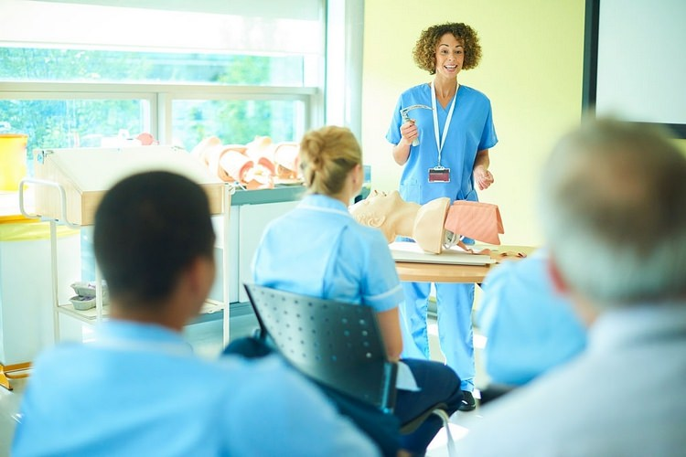 کلاس پرستاری در کشور اتریش