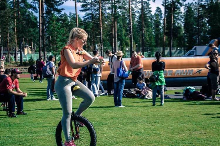 برنامه های ورزشی دانشگاه هاگا هلیا فنلاند