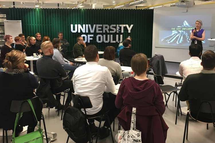 کلاس های دانشگاه اولو فنلاند